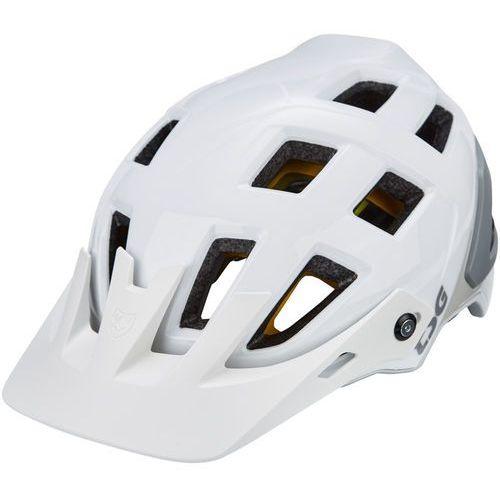scope mips solid color kask rowerowy mężczyźni, gloss white l/xl  57-59cm 2020 kaski rowerowe marki Tsg