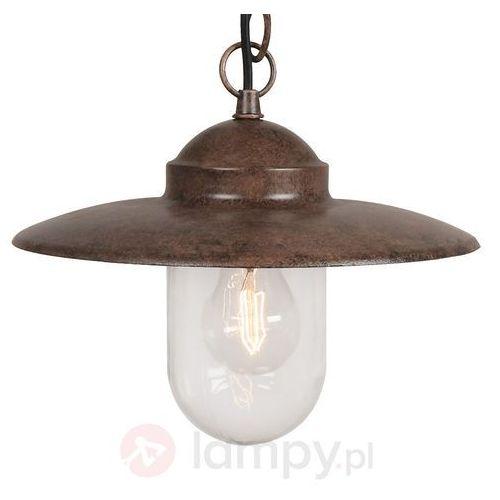 Nordlux LUXEMBOURG lampa wisząca Rudy, 1-punktowy - - Obszar wewnętrzny - LUXEMBOURG - Czas dostawy: od 4-8 dni roboczych, 72805009