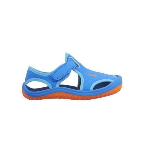 Nike Performance SUNRAY PROTECT Sandały kąpielowe photo blue/total orange/gamma blue