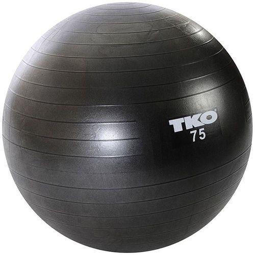 Piłka gimnastyczna 122fbp-bk-75 czarny marki Tko