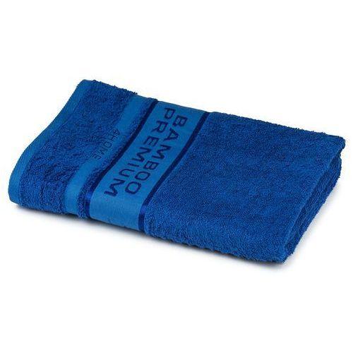 4home ręcznik kąpielowy bamboo premium niebieski, 70 x 140 cm, 70 x 140 cm