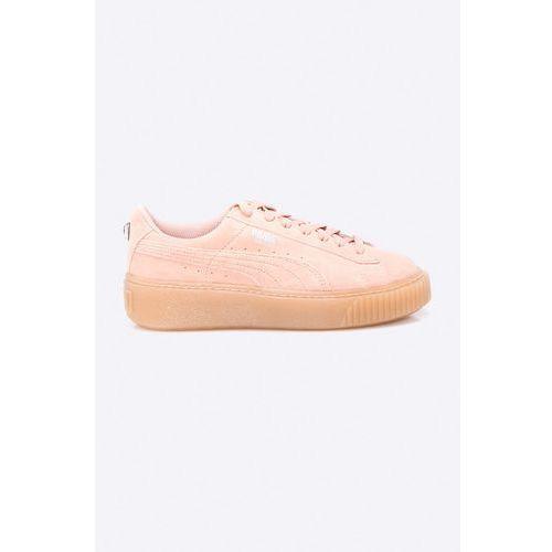 - buty dziecięce suede platform jewel marki Puma