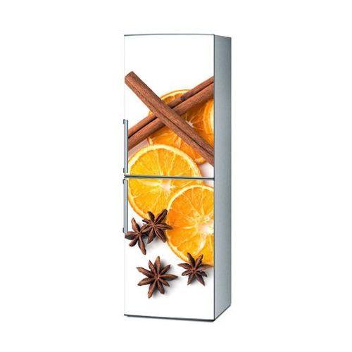 Mata magnetyczna na lodówkę - pomarańcze i cynamon 4241 marki Stikero
