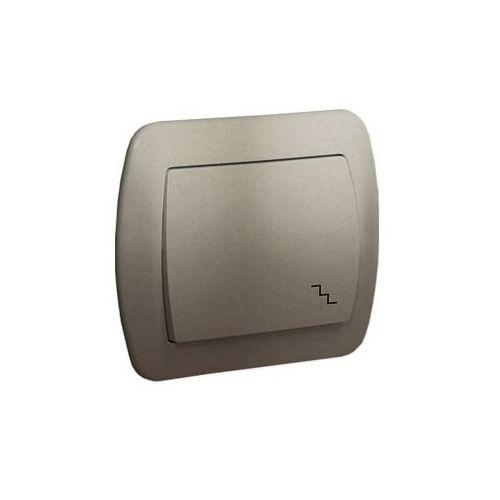 SIMON AKORD Łącznik schodowy 10AX, 250V~, zaciski śrubowe; satynowy AW6/29 WMAL-460xxx-H012
