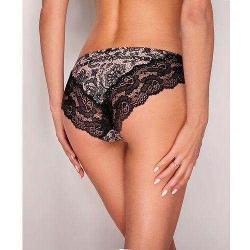 Figi Ewana N 53 M, czarno-różowy-tattoo, Ewana, 5901208453320