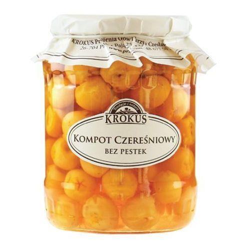 Krokus 680g kompot czereśniowy bez pestek tradycyjna receptura (5906732625335)
