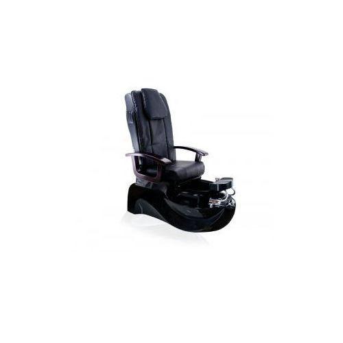 Fotel pedicure spa ts-1204 czarny z funkcją masażu marki Vanity_a