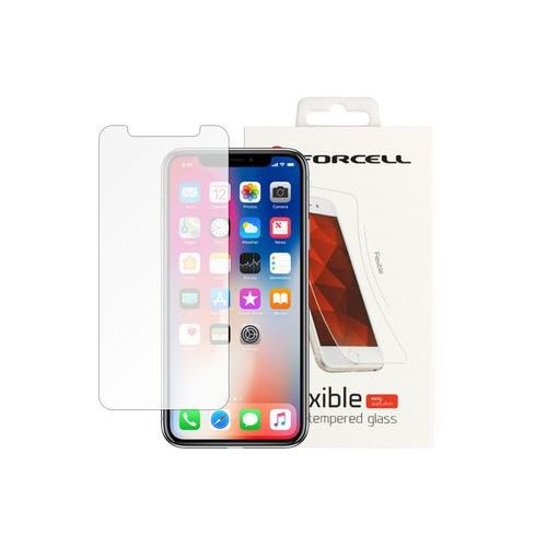 Apple iPhone X - szkło hartowane Forcell Flexible Glass, FOAP611FLXG000000
