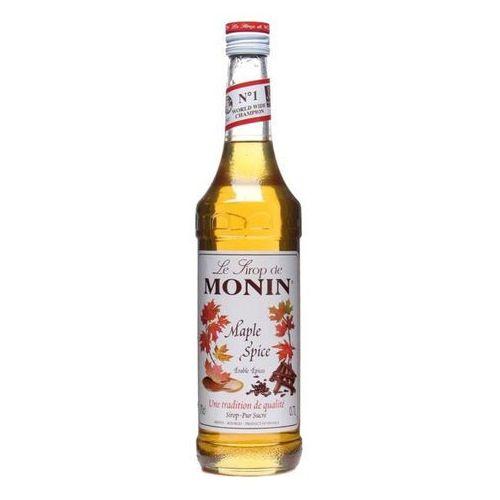 Monin Syrop smakowy maple spice, klon korzenny 0,7l (3052910041205). Najniższe ceny, najlepsze promocje w sklepach, opinie.