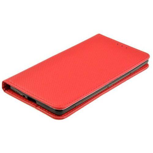 Etui Smart W2 do SONY XPERIA XZ2 czerwony - czerwony, kolor czerwony