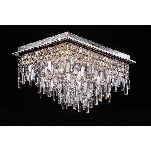 Plafon Italux Lavenda MX92915-16A lampa sufitowa z kryształami 16x20W G4 chrom (5900644341031)