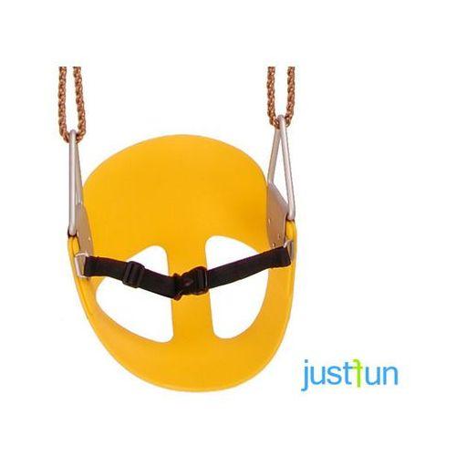 Just fun Hustawka kubełkowa elastyczna - żółty