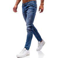 Spodnie jeansowe męskie niebieskie denley 1007, Otantik