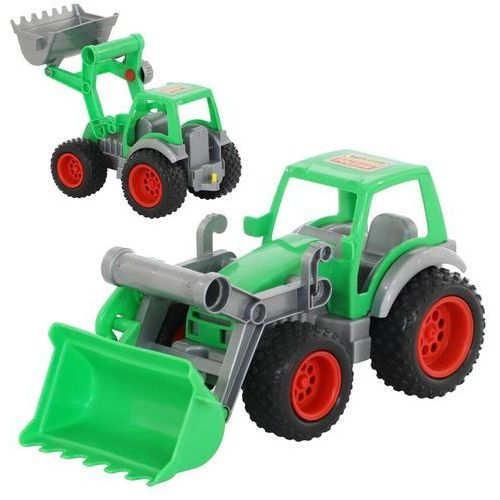 Traktor- ładowarka w siatce marki Wader-polesie