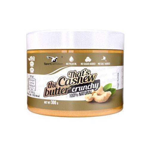 Sport Definition That's The Cashew Butter Crunchy -300g, 010251