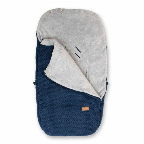 Baby's only , robust jeans, śpiworek do wózka, granatowy