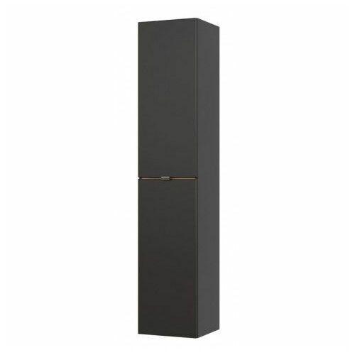 Podwieszany słupek łazienkowy - Malta 2X Czarny mat, CAPRI-COSMOS-800