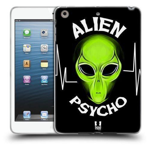 Etui silikonowe na tablet - Alien Emoji Black Psycho