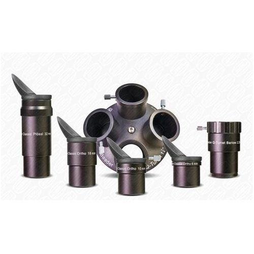 Baader planetarium Zestaw 4 okularów classic ortho z soczewką barlowa i karuzelą rewolwerową (2957000)