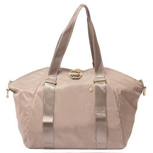 Pacsafe citysafe cx tote torba damska antykradzieżowa do ręki / na ramię / beżowa - blush tan