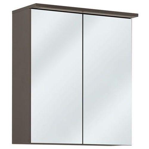 Szafka łazienkowa z lustrem GALAXY GRAFIT 840