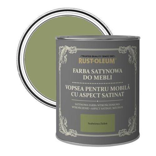 Rust-oleum Farba do mebli szałwiowa zieleń satyna 0,125 l (5013296038423)