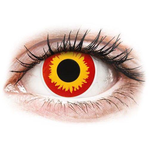 Soczewki kolorowe czerwone WILD FIRE Crazy Lens 2 szt. (9555644810566)