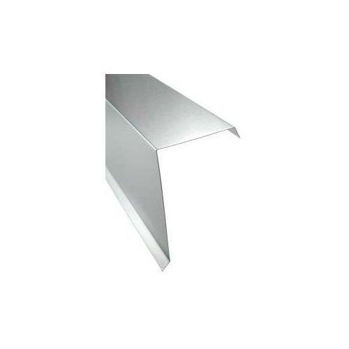 Wiatrownica na blachodachówkę lub blachę trapezową - 0020 tytan cynk