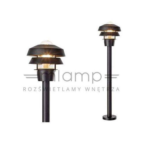 Markslojd Słupek lampa ogrodowa troy 107117 stojąca oprawa zewnętrzna outdoor ip44 czarna