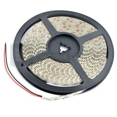 Pasek LED SMD3528 IP65 9,6W, 120 diod/m, 8mm, barwa neutralna biała - 5m (5901854776873)