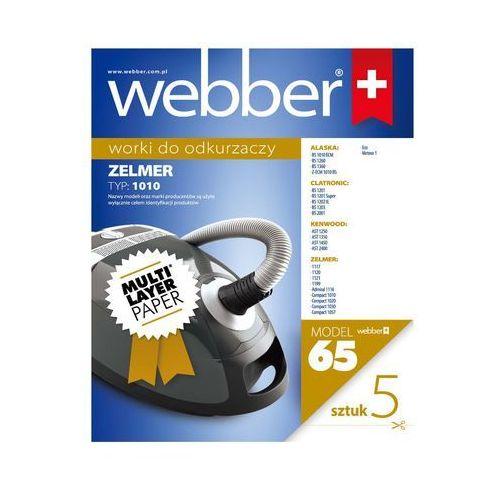 Worek do odkurzacza WEBBER 65 (5 sztuk)