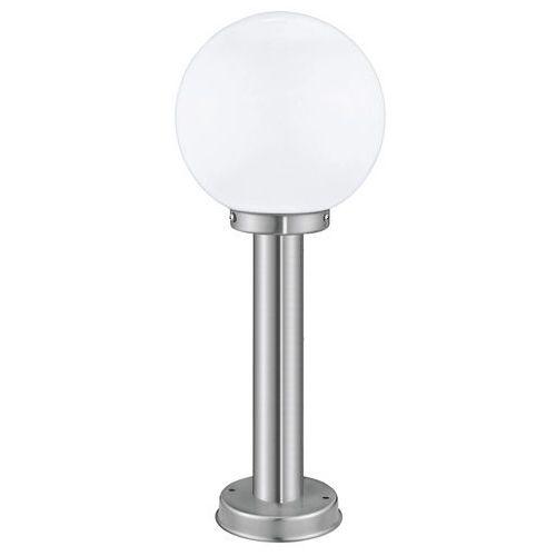 Lampa stojąca Eglo Nisia 30206 zewnętrzna 1x60W E27 50cm IP44 satyna