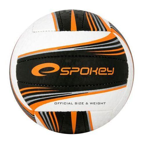 Piłka siatkowa SPOKEY 837395 Gravel II Czarno-Pomarańczowy (rozmiar 5)
