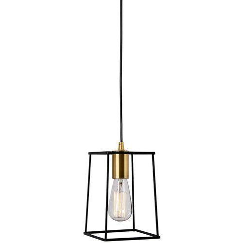 Alanis lampa wisząca 1-punktowa MD-BR16556-D1-B/G, kolor Czarny