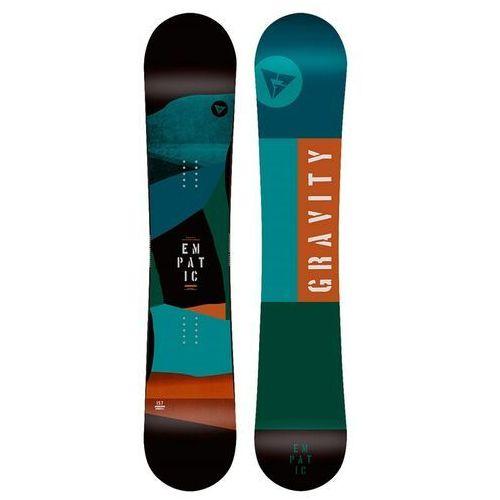 Snowboard - empatic multi (multi) rozmiar: 153w marki Gravity
