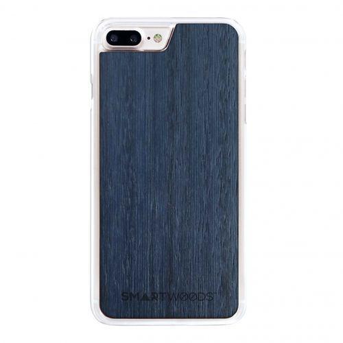 Smart woods Etui smartwoods – blue sky clear iphone 8 plus
