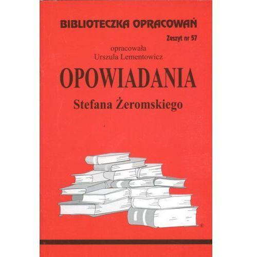 Biblioteczka Opracowań Opowiadania Stefana Żeromskiego (8386581778)