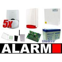 Satel Zestaw alarmowy ca-6 led, gsm, 5 czujek, sygnalizator zewnętrzny