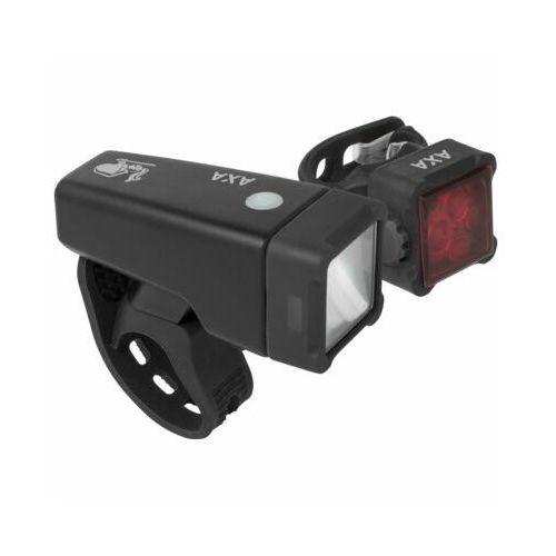Zestaw lampek rowerowych AXA Niteline T4-R DARMOWY TRANSPORT