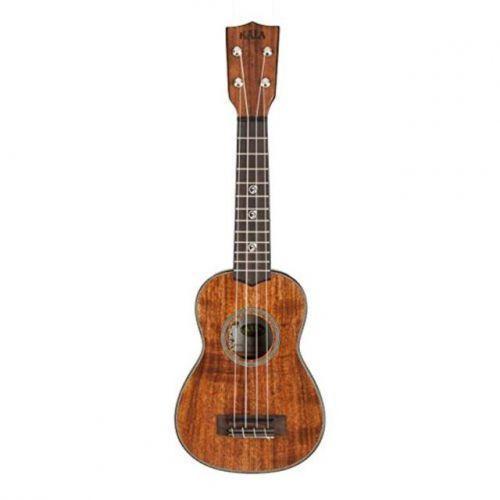 acacia solid soprano ukulele sopranowe z futerałem marki Kala