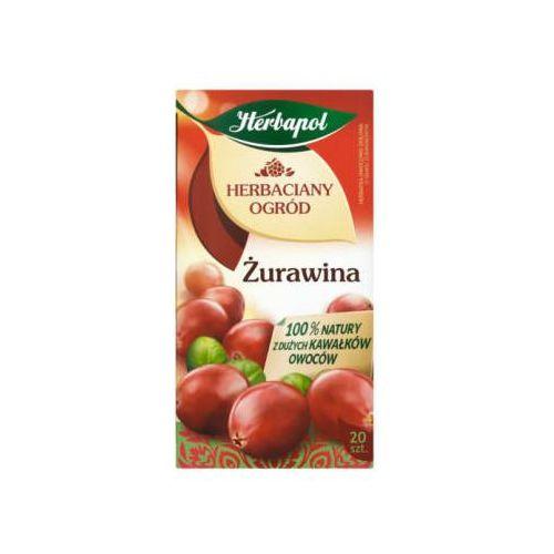 Herbapol Herbatka owocowo-ziołowa herbaciany ogród żurawina ex'20 50 g (5900956004556)
