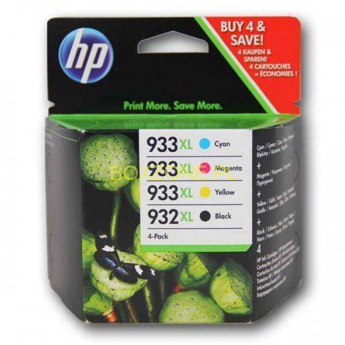 HP oryginalny ink C2P42AE, No.932XL/No.933XL, cyan/magenta/yellow/black, 825/1000s, 4szt, HP, IHPC2P42AENG (6315311)