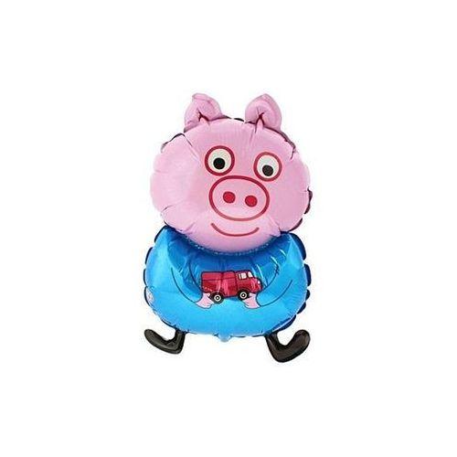 Go Balon foliowy świnka peppa niebieska - 62 cm - 1 szt.
