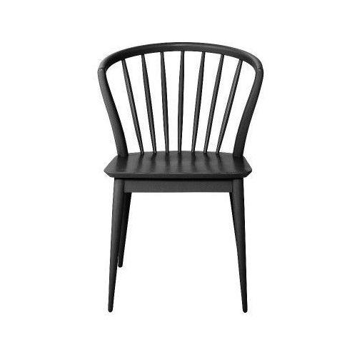 Bloomingville Krzesło stołowe drewniane laura, czarne - (5711173170159)