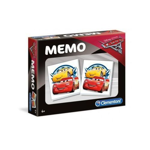 Memo cars 3 marki Clementoni