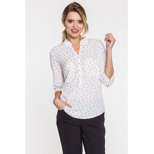 Duet woman Koszulowa bluzka w kropki -