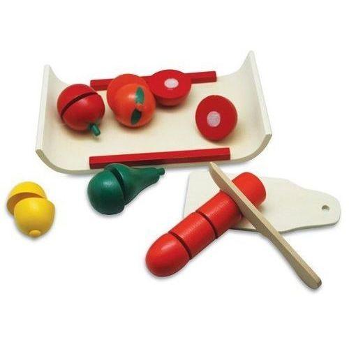 Playme Deska z owocami i warzywami do krojenia na rzepy 17 elementów (5907791576729)