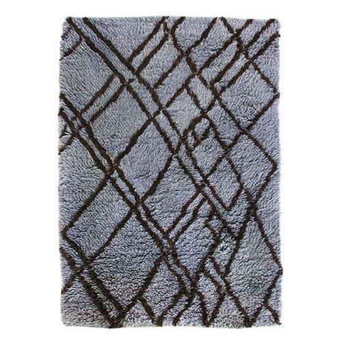 HK Living Wełniany dywan berberyjski szaro-niebieski (180x280) TTK3038