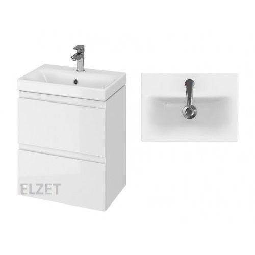 Cersanit set szafka moduo biały połysk + umywalka moduo slim 50 s801-229