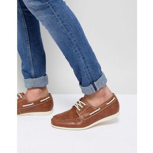 boat shoes in tan - tan marki New look